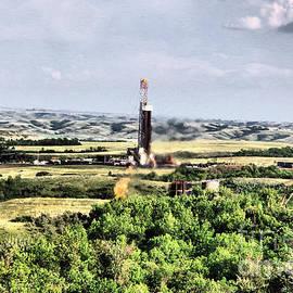 Drilling in the Bakken by Jeff Swan