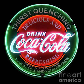 Bob Christopher - Drink Coca-Cola Neon Sign
