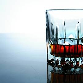 drink in a glass