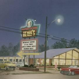 Drive-in Restaurant by C Robert Follett