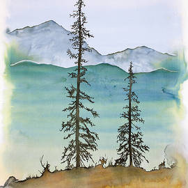 Carolyn Doe - Drive to Eagle and sketching on a bumpy road