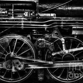 Drive Wheels of Iron by Paul W Faust - Impressions of Light