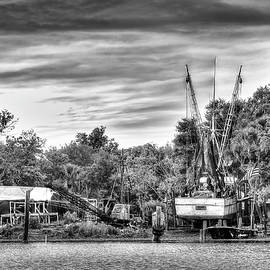Dry Dock - St. Helena Shrimp Boat