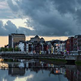 Dublin Sky at Sunset by Sharon Popek