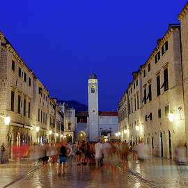 Elenarts - Elena Duvernay photo - Dubrovnik stradun or placa main street, South Dalmatia region, Croatia, hdr
