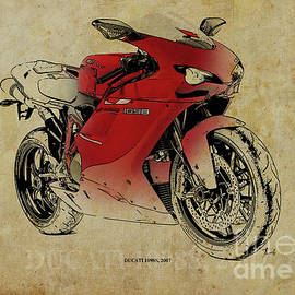 Ducati 1098S, gift for bikers, original gift for dad