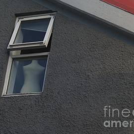 Dummy in the Window in Reykjavik by Barbie Corbett-Newmin