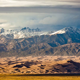 Dunes and Sangre de Christos by Adam Pender