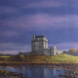 Dunguaire Castle after the rain by Sean Conlon
