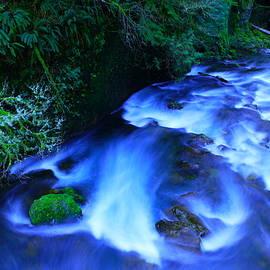 Jeff Swan - Dusk on a wild river