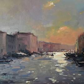 Vlad Duchev - Dusk over Grand Canal