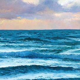 Dusk over the Ocean by Jan Matson