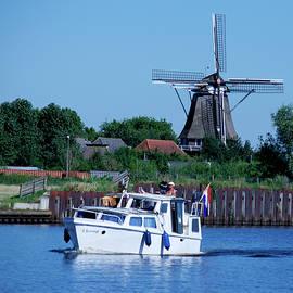 Dutch Canal Scene
