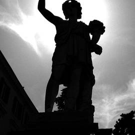 Dyonisus Dionysus Bacchus Dioniso Roman And Greek Mythology Culture Black And White Photo by Alessandro Nesci