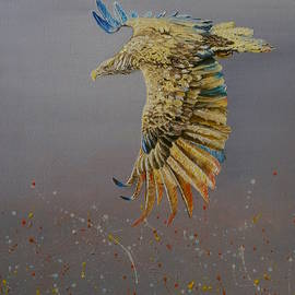 Eagle-abstract by Maria Woithofer