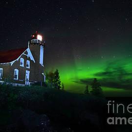 Eagle Harbor Lights by Dale Niesen