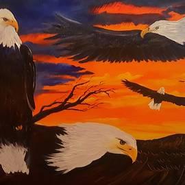 Eagles Are Back                 76 by Cheryl Nancy Ann Gordon