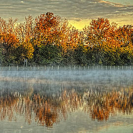 Roger Passman - Early Fall Morning on the Fox River