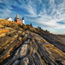 Darren White - Early Morning At Pemaquid Point