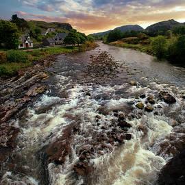 Early Morning At Poolewe, Scotland by Jaroslaw Blaminsky