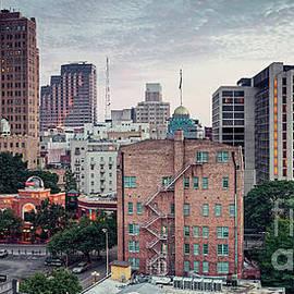 Silvio Ligutti - Early Morning Panorama of Downtown San Antonio Skyline and Architecture - Bexar County Texas