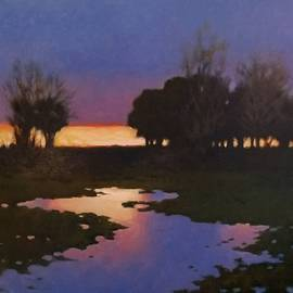 Kevin Lawrence Leveque - Early Morning Rice Fields