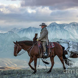 Early October Hunt Wild West Photography Art By Kaylyn Franks by Kaylyn Franks