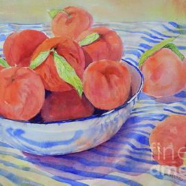 Early Peaches by Marsha Reeves