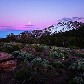 Scott Hadley - Early Summer Sunset over Mammoth