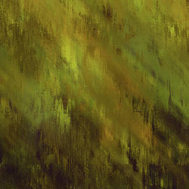 Georgiana Romanovna - Earthly Moss Abstract
