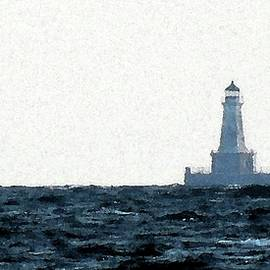 East Charity Shoal Light Image by Dennis McCarthy