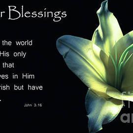 Easter Blessings by Deborah Klubertanz