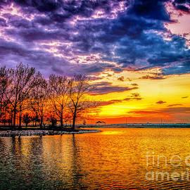 Nick Zelinsky - Easter Sunset at Riverview Beach Park