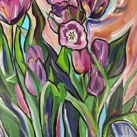 Catherine Gruetzke-Blais - Easter Tulips
