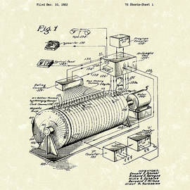 Eckdahl Computer 1960 Patent Art by Prior Art Design