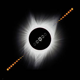 Eclipse Montage 2017 by John Meader
