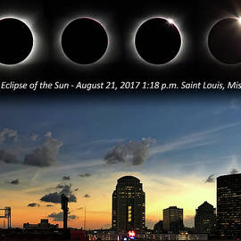 Eclipse - St Louis by Harold Rau and Sharon Rau Zinck