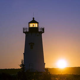 John Greim - Edgartown Light Sunrise