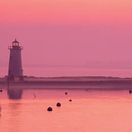 Bob Pizaro - Edgartown Lighthouse Sunrise