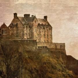 Edinburgh Castle by Diane Lindon Coy