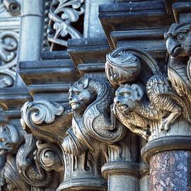 Edinburgh Gargoyles by Kenneth Campbell