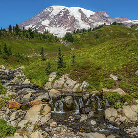 Marv Vandehey - Edith Creek Mount Rainier Vertical