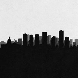 Edmonton Cityscape Art - Inspirowl Design