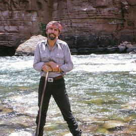 Edward Abbey, author of Desert Solitaire, shown here by the Colo - The Harrington Collection