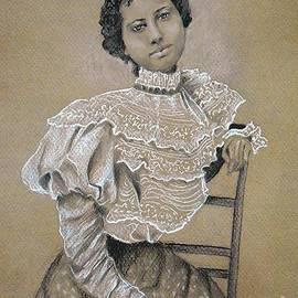 Jayne Somogy - Edwardian Ebony Elegance -- Portrait of Edwardian African-American Woman