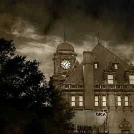 Eerie Nights At The Station by Sharon Popek
