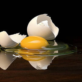 Egg On Glass by Endre Balogh