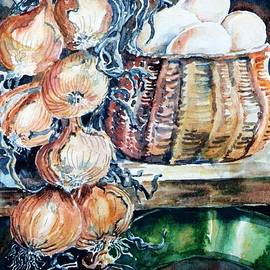 Trudi Doyle - Eggs and Onions in the Larder
