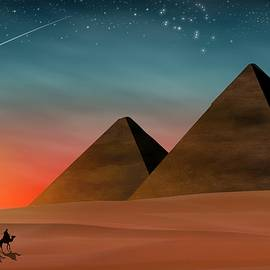 Egyptian Pyramids by John Wills