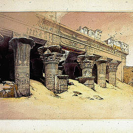 Egyptian Temple No 1 by Robert G Kernodle